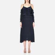Gestuz Women's Jeannine Strap Silk Dress - Navy