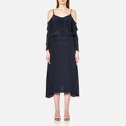 Gestuz Women's Jeannine Strap Silk Dress - Navy