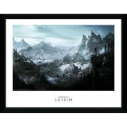 """Skyrim Vista Framed Photographic - 16"""""""" x 12"""""""