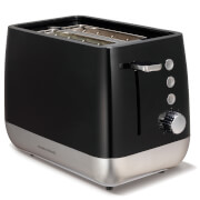 Morphy Richards 221152 Chroma Plastic 2 Slice Toaster - Black