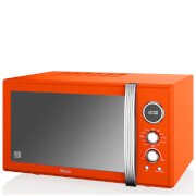 Swan 25L Digital Combi Microwave - Orange