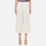 Diane von Furstenberg Women's Holly Culotte Trousers - Ivory