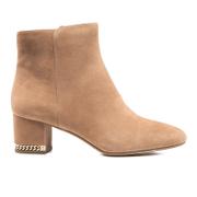 MICHAEL MICHAEL KORS Women's Sabrina Mid Suede Boots - Dark Khaki