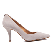 MICHAEL MICHAEL KORS Women's MK Flex Suede Court Shoes - Pearl Grey