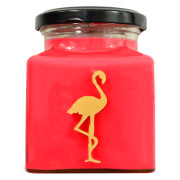 Rhubarb and Pear Flamingo Candle