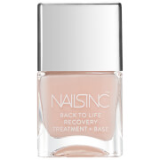Esmalte base y de tratamiento Back to Life Recovery de nails inc. 14 ml