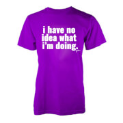Jaiden I have no idea.. T-Shirt - Purple