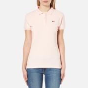 Maison Kitsuné Women's Fox Patch Polo Shirt - Pink