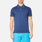 GANT Men's Original Pique Rugger Polo Shirt - Ocean Blue Melange