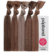 Popband London Hair Ties - Cocoa