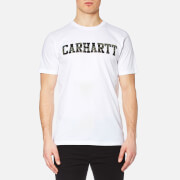 Carhartt Men's Short Sleeve College T-Shirt - White/Tiger Camo