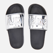 Superdry Women's Pool Slide Sandals - Chrome