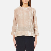 Samsoe & Samsoe Women's Christy Velour Top - Pink Tint
