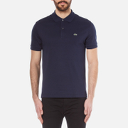 Lacoste Men's Cotton Short Sleeve Polo Shirt - Navy