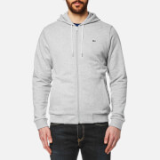Lacoste Men's Full Zip Hoody - Grey