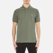 Lacoste Men's Short Sleeve Pique Polo Shirt - Army