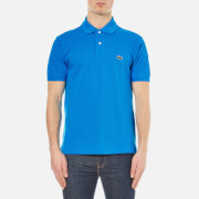 Lacoste Men's Short Sleeve Pique Polo Shirt - Loire Blue