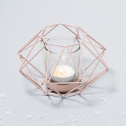 Geo Candle Holder - Pink