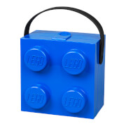 LEGO Classic Lunch Box with Handle (4 Knob) - Bright Blue