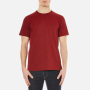 rag & bone Men's Standard Issue Pocket T-Shirt - Fiery Red