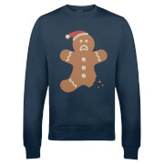 Ginger Bread Christmas Sweatshirt - Navy