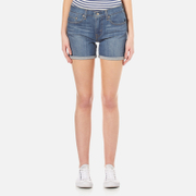 Levi's Women's Mid Length Short Update Shorts - Mariposa Road