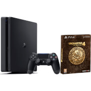 PlayStation 4 Slim with Uncharted 4: Special Edition
