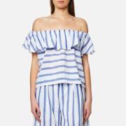 Paisie Women's Stripe Off the Shoulder Top - Multi