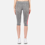 Superdry Women's Superdry Core Gym Capri Leggings - Charcoal Grit