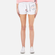 Superdry Women's Track & Field Shorts - Ice Marl