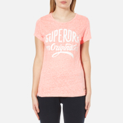 Superdry Women's Superdry MFG Entry T-Shirt - Coral Blossom Snowy