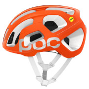 POC Octal AVIP MIPS Helmet - Zink Orange/Hydrogen White