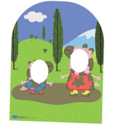 Peppa Pig Muddy Puddle Stand In Cut Out - Child Sized