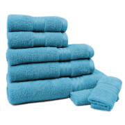 Restmor 100% Egyptian Cotton 7 Piece Supreme Towel Bale Set (500gsm) - Teal