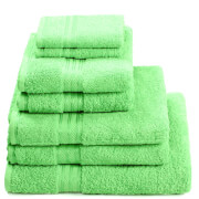 Restmor 100% Egyptian Cotton 7 Piece Supreme Towel Bale Set (500gsm) - Lime
