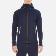 Superdry Men's Gym Tech Ziphood - Rich Navy/Cobalt