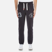 Superdry Men's Trackster Vintage Joggers - Truest Navy
