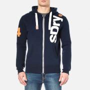 Superdry Men's International Registered Zip Hoody - Nautical Navy