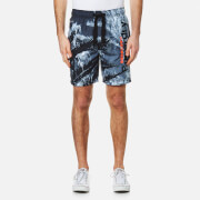 Superdry Men's Premium Neo Photo Swim Shorts - Mono Print