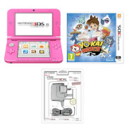 Nintendo 3DS XL Pink + YO-KAI WATCH