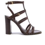 Ash Women's Amazing Bis Gladiator Heeled Sandals - T Moro