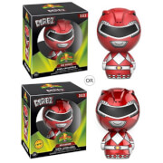 Figurine Dorbz Power Rangers Rouge - Mighty Morphin'