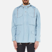 Maison Kitsuné Men's M65 Chambray Jacket - Blue