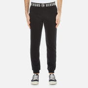 Versus Versace Men's Slim Leg Joggers with Branded Waistband - Black