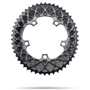 AbsoluteBLACK 110BCD SRAM 5 Bolt Spider Mount Oval Chain Ring (Premium) - Outer Ring