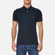 Tommy Hilfiger Men's Contrast Collar Polo Shirt - Midnight