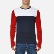 Tommy Hilfiger Men's Kya Crew Neck Jumper - Midnight