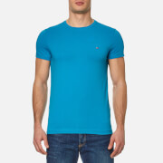 Tommy Hilfiger Men's New Stretch Crew Neck T-Shirt - Nautical Blue