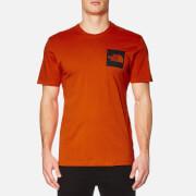 The North Face Men's S/S Fine T-Shirt - Tibetan Orange