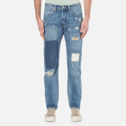 Edwin Men's ED-55 Regular Tapered Jeans - Pulled Wash